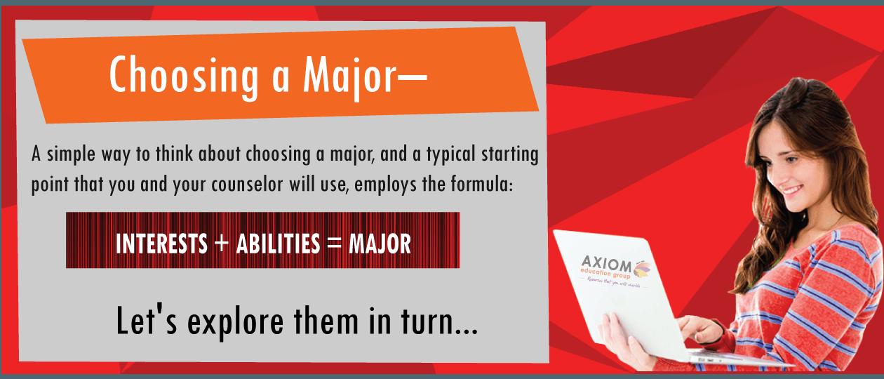Choosing-a-Major Axiom