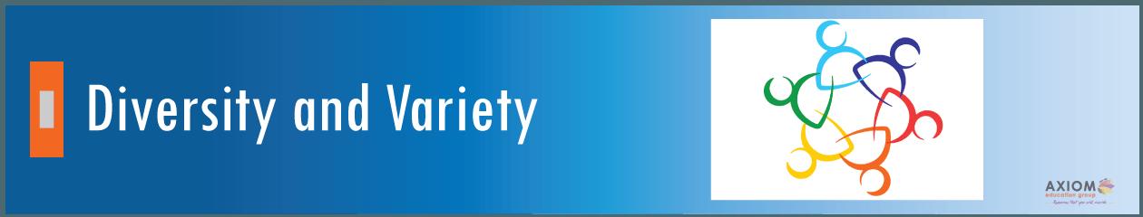 Diversity-variety-Axiom