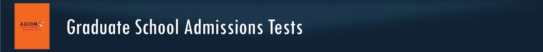 Graduate-School-Admissions-Tests