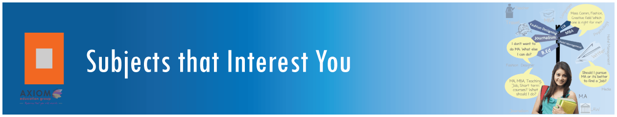 Subjects-that-Interest-You Axiom