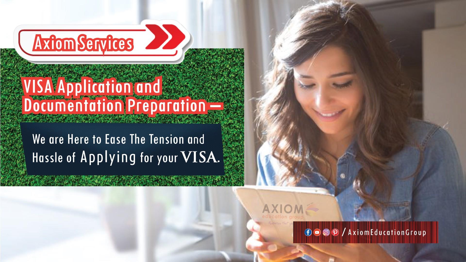 visa support banner axiom