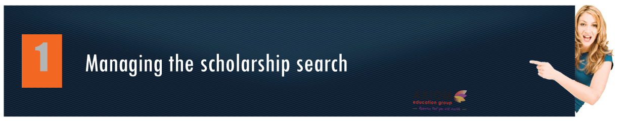 Managing-the-scholarship-search