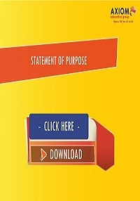 STATEMENT OF PURPOSE AXIOM Guide