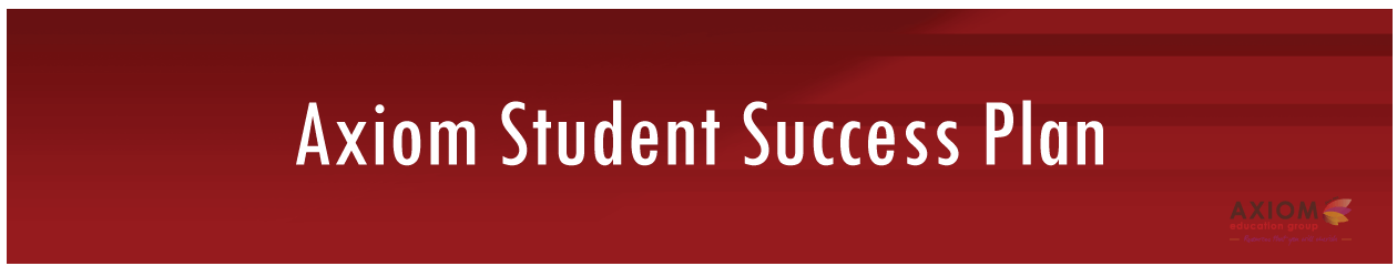 Student-Success-Plan