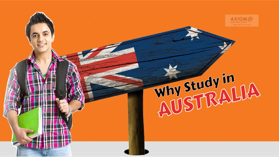Why study in Australia Axiom
