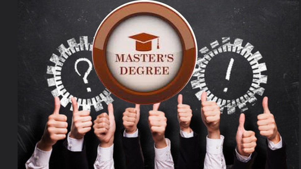 MASTERS DEGREE Axiom