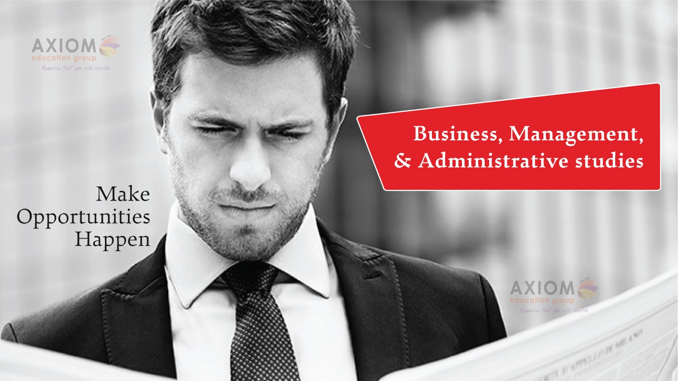 Business management and administrative studies